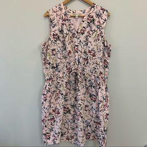 Catherine Malandrino Sleeveless Floral Dress  XL